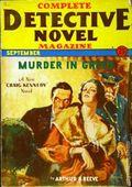 Complete Detective Novel (1928-1935 Teck/Radio-Science/Novel Magazine) Pulp 51