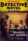 Complete Detective Novel (1928-1935 Teck/Radio-Science/Novel Magazine) Pulp 53