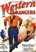 Western Rangers (1930-1932 Popular) Pulp Vol. 3 #1