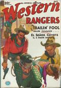 Western Rangers (1930-1932 Popular) Pulp Vol. 4 #1