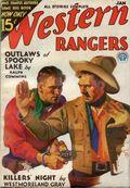 Western Rangers (1930-1932 Popular) Pulp Vol. 4 #4