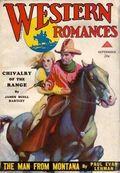 Western Romances (1929-1939 Dell) Pulp Vol. 6 #18