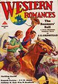 Western Romances (1929-1939 Dell) Pulp Vol. 7 #20