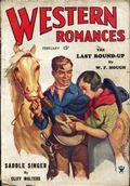 Western Romances (1929-1939 Dell) Pulp Vol. 11 #33
