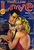 Thrilling Love (1931-1955 Metropolitan-Standard) Pulp Vol. 30 #1