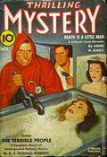 Thrilling Mystery (1935-1947 Standard) Pulp Vol. 15 #3