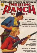 Thrilling Ranch Stories (1933-1953 Standard) Pulp Vol. 19 #1