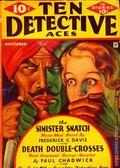 Ten Detective Aces (1933-1949 Ace Magazines) Pulp Vol. 22 #1