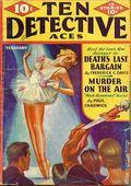 Ten Detective Aces (1933-1949 Ace Magazines) Pulp Vol. 25 #4