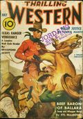 Thrilling Western (1934-1953 Standard) Pulp Vol. 27 #2