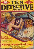 Ten Detective Aces (1933-1949 Ace Magazines) Pulp Vol. 30 #4