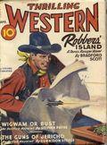Thrilling Western (1934-1953 Standard) Pulp Vol. 37 #2