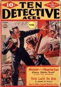 Ten Detective Aces (1933-1949 Ace Magazines) Pulp Vol. 34 #1