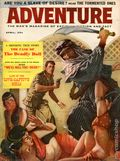 Adventure (1910-1971 Ridgway/Butterick/Popular) Pulp Apr 1959