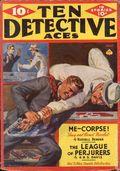 Ten Detective Aces (1933-1949 Ace Magazines) Pulp Vol. 36 #1