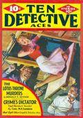 Ten Detective Aces (1933-1949 Ace Magazines) Pulp Vol. 39 #4