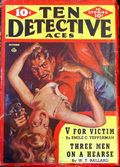 Ten Detective Aces (1933-1949 Ace Magazines) Pulp Vol. 45 #4