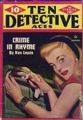 Ten Detective Aces (1933-1949 Ace Magazines) Pulp Vol. 52 #1