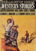 Treasury of Great Western Stories (1965-1973 Popular Library) Pulp 4