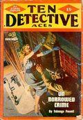 Ten Detective Aces (1933-1949 Ace Magazines) Pulp Vol. 54 #3