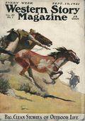 Western Story Magazine (1919-1949 Street & Smith) Pulp 1st Series Vol. 20 #1