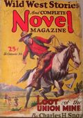 Wild West Stories and Complete Novel Magazine (1925-1939 Teck) Pulp 56