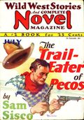 Wild West Stories and Complete Novel Magazine (1925-1939 Teck) Pulp 62