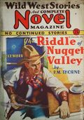 Wild West Stories and Complete Novel Magazine (1925-1939 Teck) Pulp 67