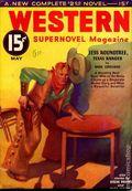 Western Supernovel Magazine (1933 Newsstand) Pulp Vol. 1 #1