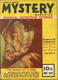 Street and Smith's Mystery Magazine (1939-1943 Street & Smith) Pulp Vol. 7 #5
