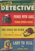Triple Detective (1947-1955 Standard) Pulp Vol. 1 #3