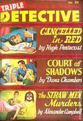 Triple Detective (1947-1955 Standard) Pulp Vol. 4 #2