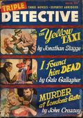 Triple Detective (1947-1955 Standard) Pulp Vol. 4 #3
