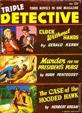 Triple Detective (1947-1955 Standard) Pulp Vol. 7 #1