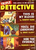 Triple Detective (1947-1955 Standard) Pulp Vol. 8 #1