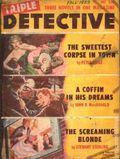 Triple Detective (1947-1955 Standard) Pulp Vol. 9 #3