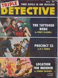 Triple Detective (1947-1955 Standard) Pulp Vol. 10 #1