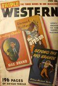 Triple Western (1947-1958 Standard) Pulp Vol. 1 #1