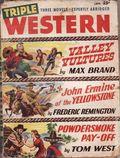 Triple Western (1947-1958 Standard) Pulp Vol. 6 #3