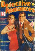 Detective Romances (1936-1937 Periodical House) Pulp Vol. 2 #1