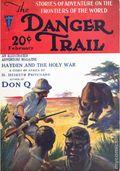 Danger Trail (1926-1928 Clayton Magazines) Pulp Vol. 5 #1
