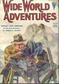 Wide World Adventure (1929-1930 Clayton Magazines) Pulp Vol. 18 #1