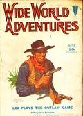 Wide World Adventure (1929-1930 Clayton Magazines) Pulp Vol. 18 #2
