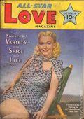 All Star Love Magazine (1941-1942 Frank A. Munsey) Pulp Vol. 1 #2