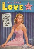 All Star Love Magazine (1941-1942 Frank A. Munsey) Pulp Vol. 1 #4