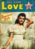 All Star Love Magazine (1941-1942 Frank A. Munsey) Pulp Vol. 2 #1