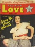 All Star Love Magazine (1941-1942 Frank A. Munsey) Pulp Vol. 2 #2