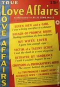 True Love Affairs (1940 Munsey) Pulp 1