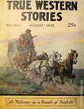 True Western Stories (1925-1926 Street & Smith) Pulp Vol. 1 #1
