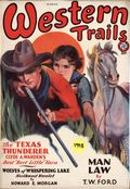 Western Trails (1928-1949 Ace Magazines) Pulp Vol. 11 #1
